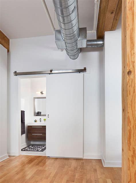 sliding barn doors  bring rustic beauty   bathroom