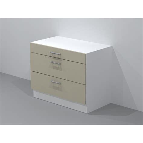 tiroir coulissant meuble cuisine casserolier de cuisine 1 tiroir 2 coulissants largeur 120cm