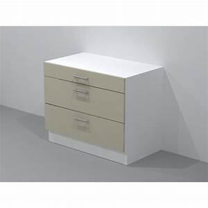 Tiroir Coulissant Cuisine : top meuble bas tiroir et coulissants hacker with meuble ~ Premium-room.com Idées de Décoration
