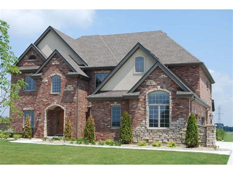 Exterior House Color Ideas With Brick
