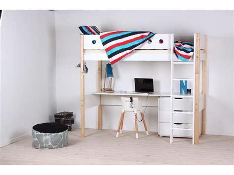 Flexa White Schreibtischplatte Für Hochbett 123moebelde