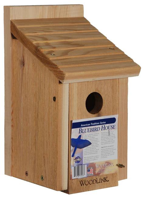 simple bird house built  kiln dried red cedar wood