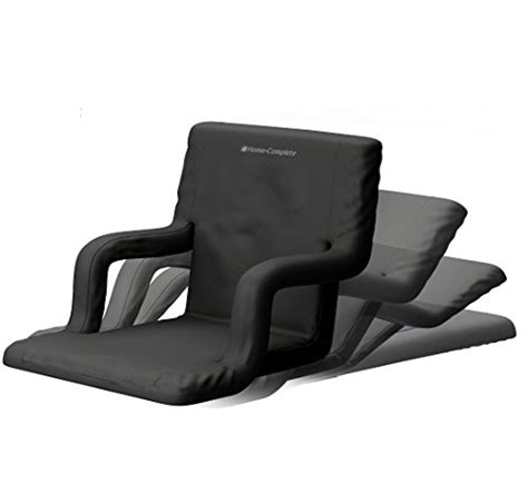 deluxe wide stadium seats chairs for bleachers or benches enjoy padde