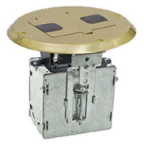 hubbell floor box kit hubbell duplex receptacle floor box kit