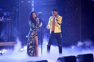 "Jhené Aiko Performs ""Moments"" With Her Boo Big Sean On ..."