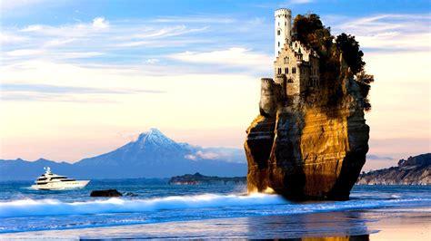 nature, Landscape, Ship, Yacht, Photo Manipulation ...