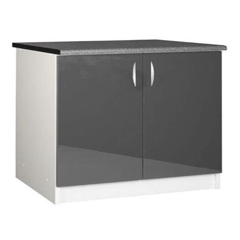 meuble cuisine 120 cm meuble cuisine bas 120 cm 2 portes oxane achat vente elements bas meuble cuisine bas 120 cm