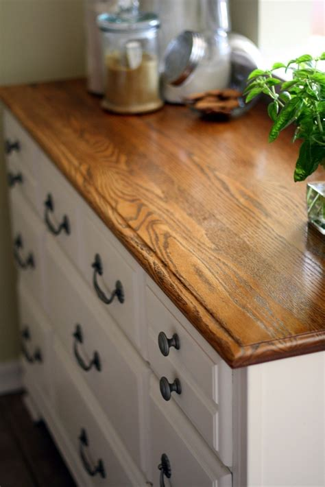 Upcycled Dresser Turned Kitchen Cabinet · How To Make A