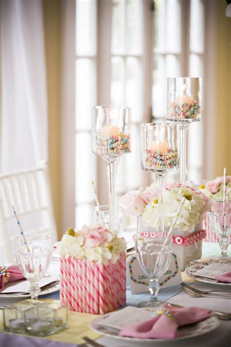 eclectic candy land wedding ideas   detail