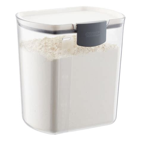 id馥s cuisines prokeeper 4 qt flour container the container store