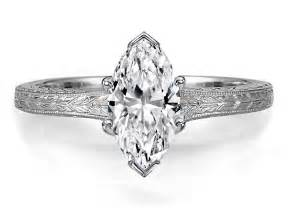vintage marquise engagement rings solitaire rings vintage marquise engagement rings from mdc diamonds nyc diamantbilds