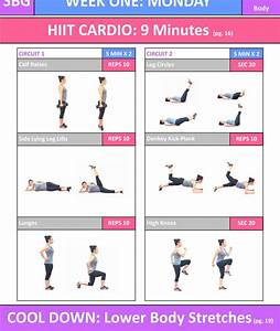 Strong Body Guide  12 Week Home Workout Program