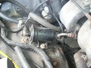 2005 Toyota Sequoia Fuel Filter Location