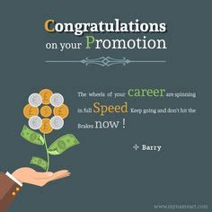 congratulations message  promotion  job greeting