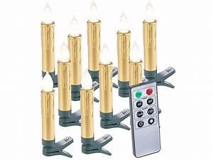 Kabellose Led Kerzen : trend 10er set led kabellose weihnachtsbaum ~ Watch28wear.com Haus und Dekorationen
