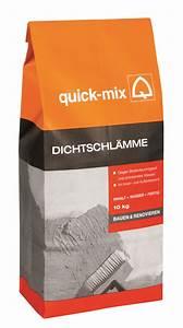 Ausgleichsmasse Quick Mix : quick mix dichtschl mme 10 kg putz m rtel baustoffe ~ Michelbontemps.com Haus und Dekorationen
