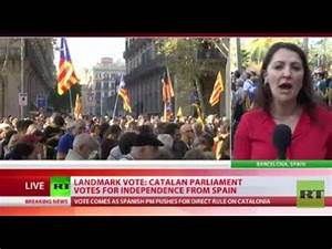 Landmark Vote: Catalan parliament votes for independence ...