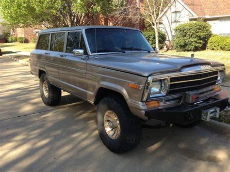 find   jeep grand wagoneer  trail dominator
