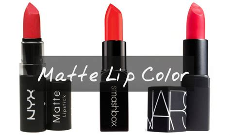14 Best Matte Lipsticks For 2018  Top Drugstore & Brand