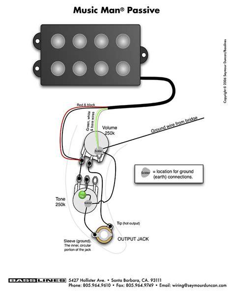 Bass Wiring Diagram Musicman Guitar