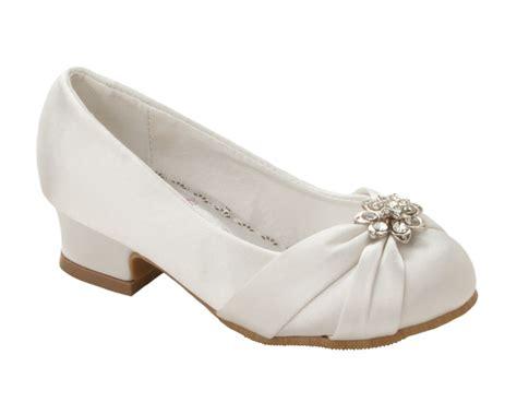 Girls White Satin Diamante Bridesmaid Wedding Party Sandals Shoes Size 8-3 Weddingbee Dress Online Royal Caribbean Wedding Vow Renewal Prayers Hindu Ceremony Readings Shirts Sydney Before Dinner Week