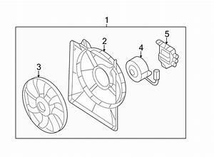 Kia Sedona Engine Cooling Fan Controller  Entourage