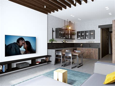 handsome small apartments  open concept layouts