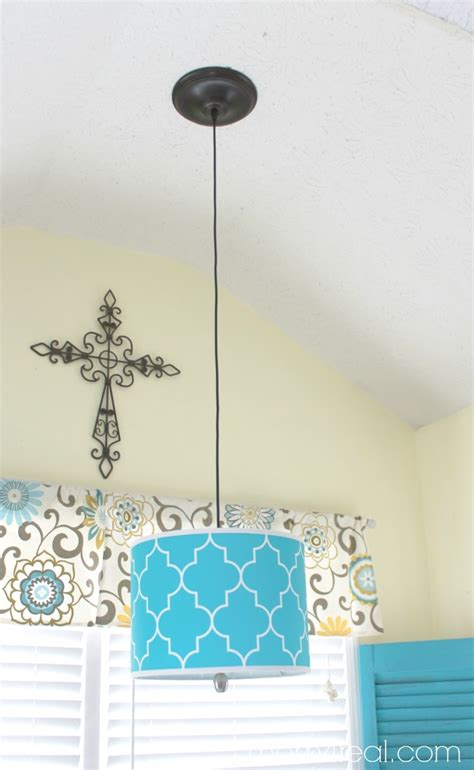 how to hang pendant lights how to turn a l shade into a pendant light mom 4 real