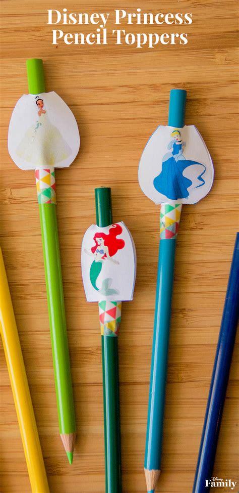 disney princess pencil toppers disney family