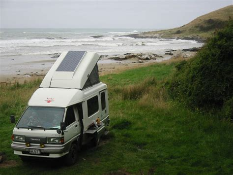 stainless steel rv 1992 toyota townace 4x4 motorhome for sale new zealand