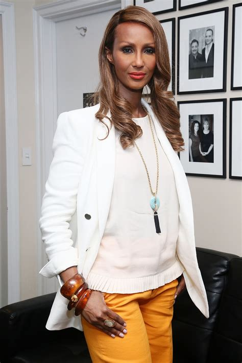Iman Says There Were More Black Models On The Runway In ...