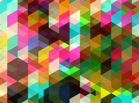 Shapes Background Colorful Shapes Background