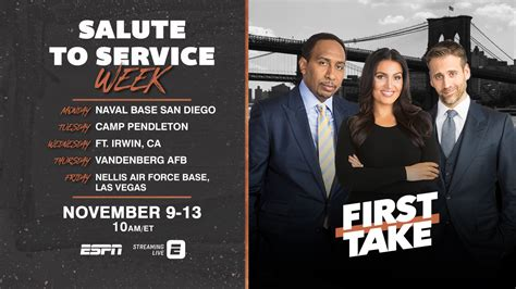 Executive Voice: How First Take Honors Veterans Week In A ...