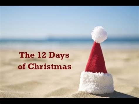 12 Days Of Christmas South Africa Youtube