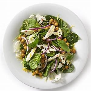 Spinat Als Salat : spinatsalat med karry kik rter og blomk l ~ Orissabook.com Haus und Dekorationen