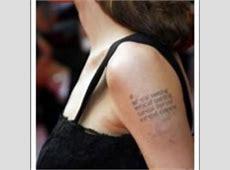 Tatouage Angelina Jolie Signification Khmer Tattoo Art