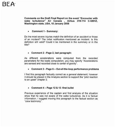 bureau d enqutes et d analyses bureau de la s 233 curit 233 des transports du canada rapport d enqu 234 te a 233 ronautique a08w0007