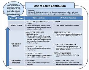 Un Guidelines For The Use Of Force By Military Components