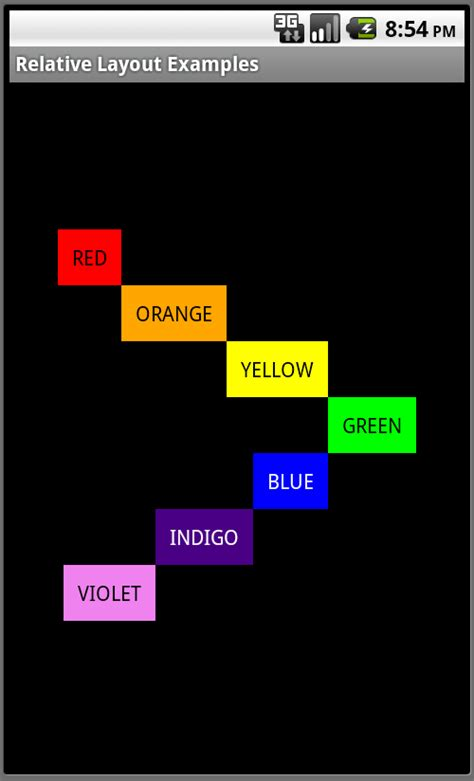 layouts for android android ui fundamentals challenge relativelayout