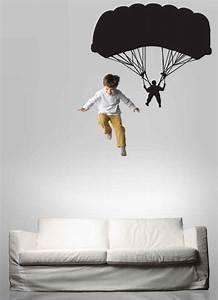 Parachutist Parachute Parachuter Decal Sky Diving