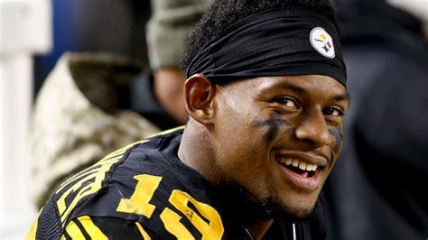 steelers juju smith schuster takes   kids