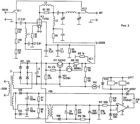 Схемы коммутации индуктивных нагрузок