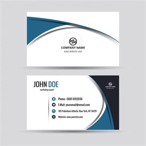 company card  modern style  vector