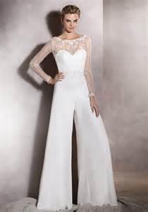 Bridal Wedding Dress Jumpsuit