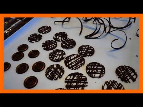 len selber herstellen 5 schokoladen dekorationen selber herstellen 5 leckere dekorationen aus schokolade kuchenfee