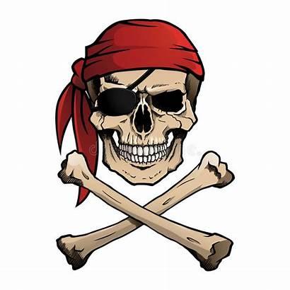Pirate Jolly Roger Skull Crossbones Bandana Pirata