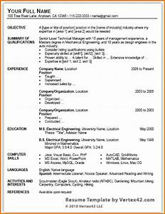Resume Template fice Skills Alexa puter With