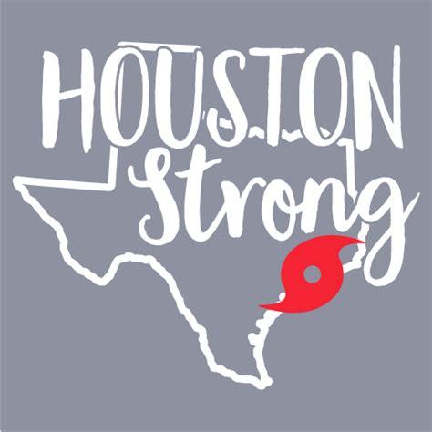 houston strong hurricane harvey support shirt custom ink fundraising