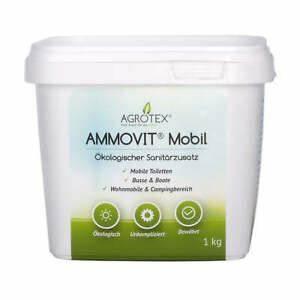 Camping Toiletten Zusatz : ammovit mobil 1 kg kologischer sanit rzusatz wc zusatz ~ Watch28wear.com Haus und Dekorationen