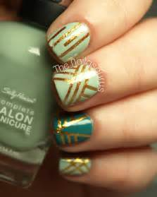 Nail design with tape designs hair styles tattoos and fashion heartbeats